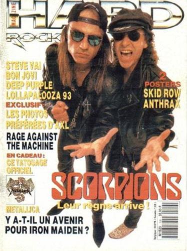 Hard Rock Magazine N°106 - Septembre 1993