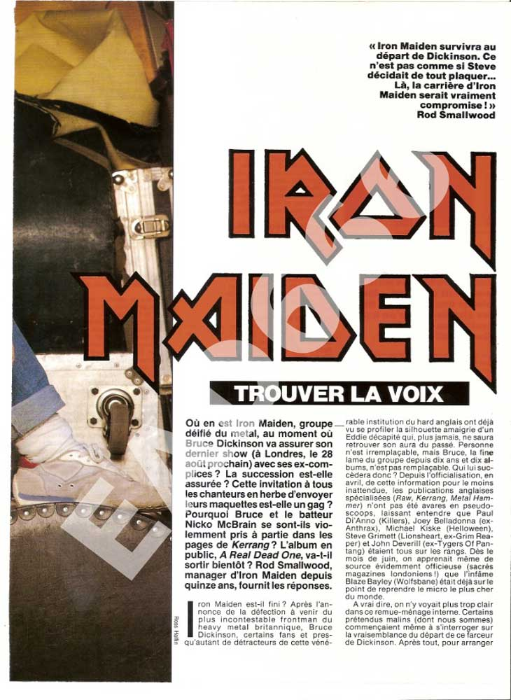 Hard Rock Magazine N°106 - Septembre 1993