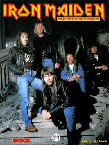 Iron Maiden avec paroles de chansons