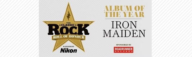 Classic Rock Roll Of Honour 2015
