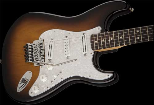 Dave Murray Stratocaster®, Maple Fingerboard, 2-Color Sunburst