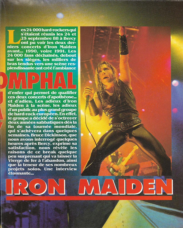 Metal Rock N°4 - 1988