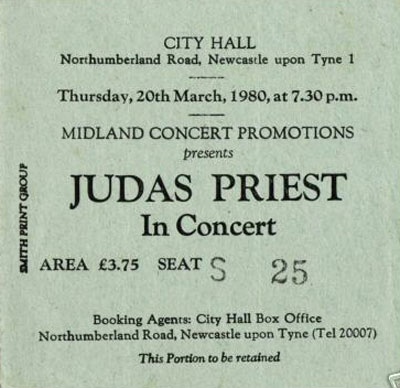 Early UK Concerts 1980