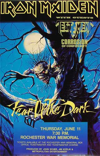 Fear Of The Dark World Tour 1992
