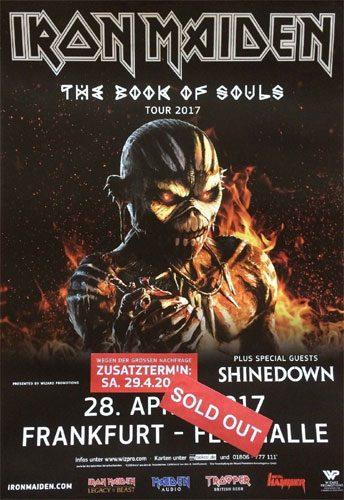 The Book Of Souls European Tour 2017