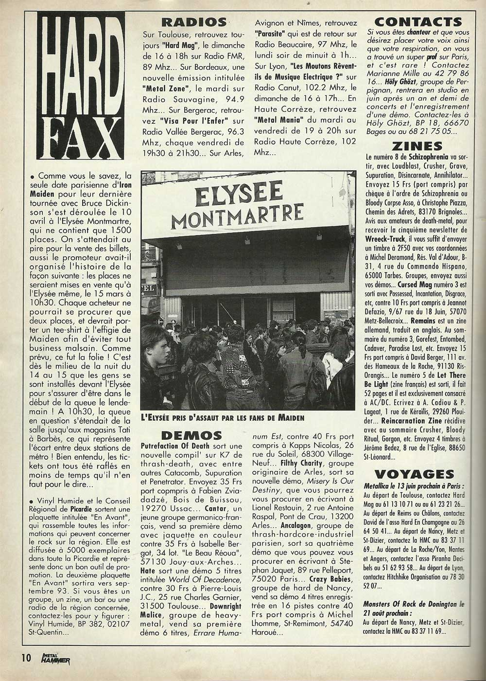 Metal Hammer N°52 - Mai 1993
