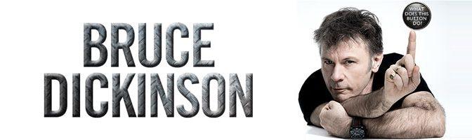 L'autobiographie de Bruce Dickinson à paraitre