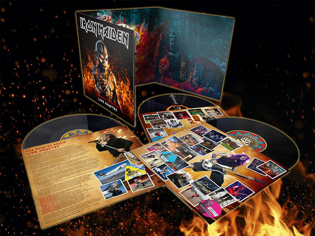Iron Maiden, The Book Of Souls: Live Chapter