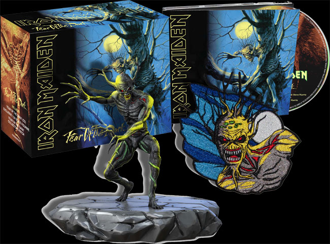 COFFRET Collector Fear Of The Dark (inclus figurine et patch)
