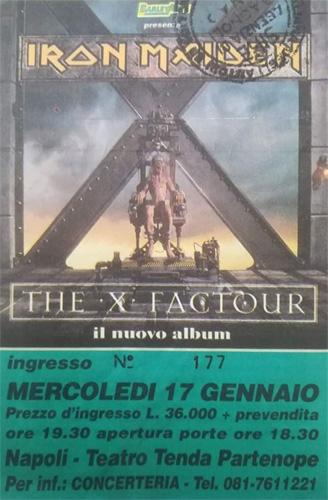 The X Factour 1995 / 1996