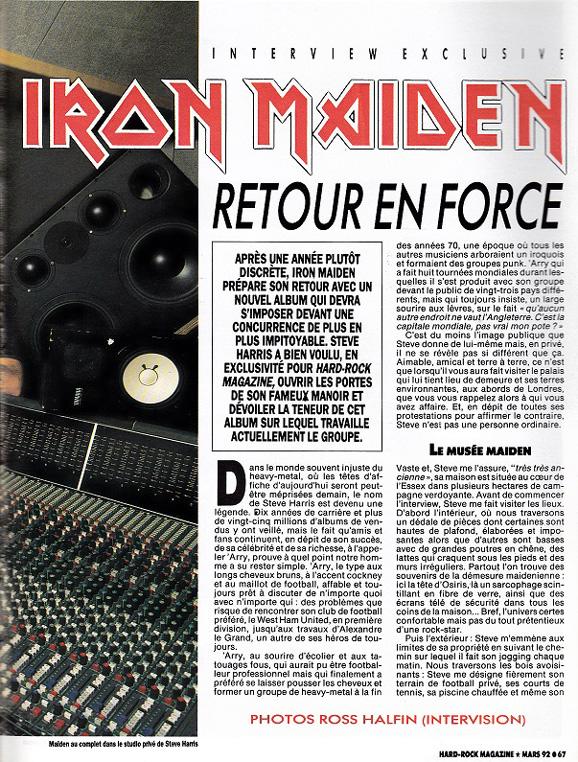 Hard Rock Magazine N°88 - Mars 1992